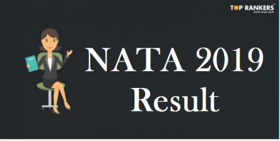 NATA Result 2019 to be released on 3rd May |  NATA 1 Scorecard, Merit list