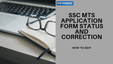 SSC MTS Application Status 2019 | MTS Form Correction