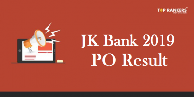JK Bank PO Result 2019 Released | Download J&K Bank PO Result PDF