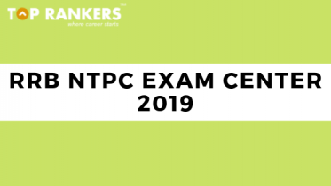 RRB NTPC Exam Centers 2019