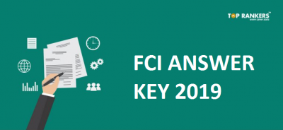 FCI Exam Answer Key 2019