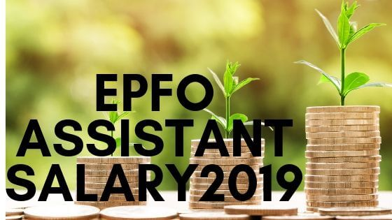 epfo assistant salary