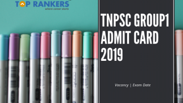 TNPSC Group1 Admit Card 2019