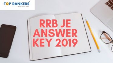 RRB JE Answer Key 2019 (Stage 1) Released