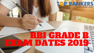 RBI Grade B Exam Dates 2019