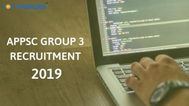 APPSC Group 3 Recruitment 2019