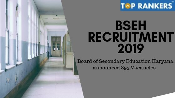 BSEH Recruitment