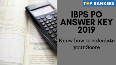 IBPS PO Answer Key 2019-20
