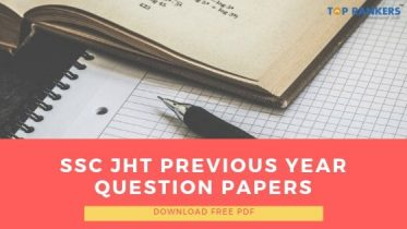 SSC JHT Previous Year Question Papers 2020: Download FREE PDF Here