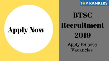 BTSC Recruitment 2019 | Apply Online for 9299 Nurse & Tutor vacancies