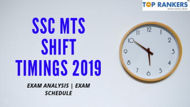 SSC MTS Shift Timings 2019