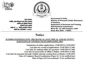 SSC Exam News Alert 2019: After 7th Pay Commission Salary Updates