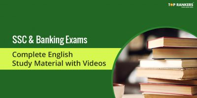 English Complete Study Material for SSC, Banking & Other exams!