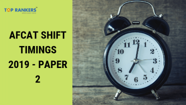 AFCAT Shift Timings – Paper 2