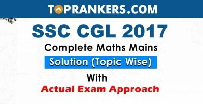 Previous Years Quant Questions for SSC CGL Tier 2