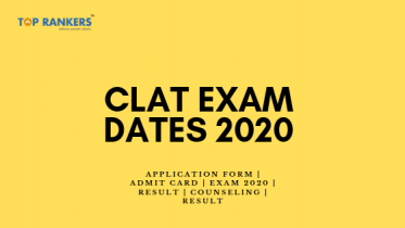 CLAT Exam Dates 2020