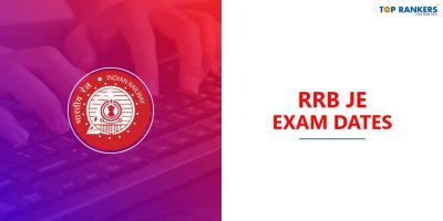 RRB JE Exam Dates 2020