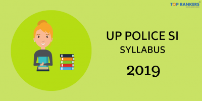 UP Police SI Syllabus 2019 PDF Download: Latest Pattern