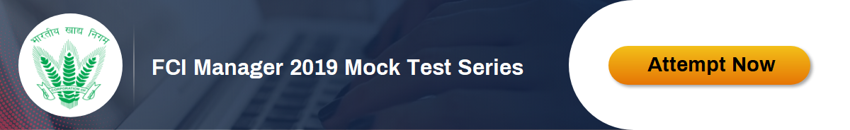 FCI Mock Test