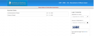 IBPS RRB Mains Result 2019 – Check IBPS RRB PO Merit List PDF