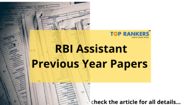 RBI Assistant Previous Year Papers Download PDF