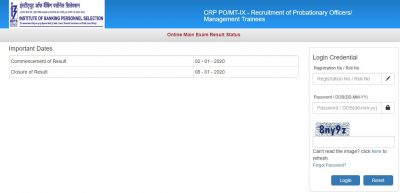IBPS PO Final Result 2020 Check Here