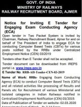 RRB NTPC Admit Card 2020 To Be Released in April