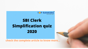 SBI Clerk Simplification quiz 2020