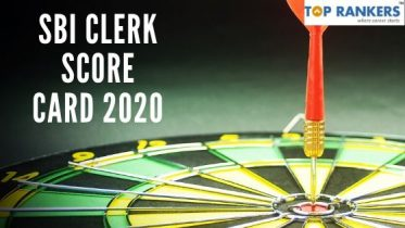 SBI Clerk Score Card 2020