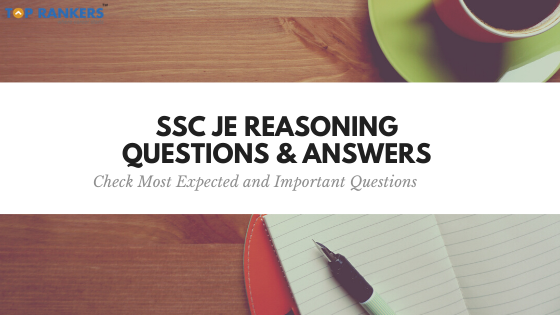ssc je reasoning questions