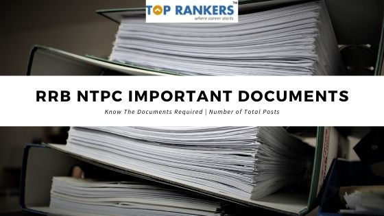 RRB NTPC Important Documents