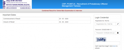 IBPS PO Final Result 2020 Released Today Check Here
