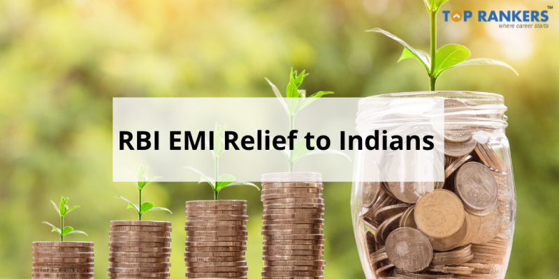 RBI EMI Relief to Indians