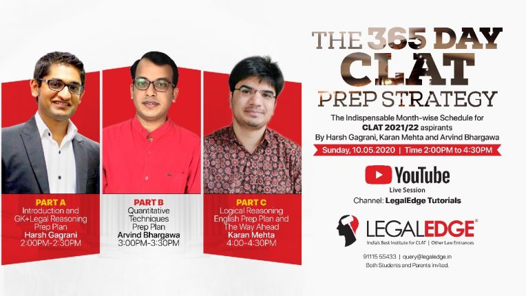 CLAT Online Preparation- Webinar by LegalEdge