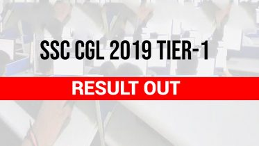 SSC CGL Result 2019 Check SSC CGL Tier 1 Result PDF
