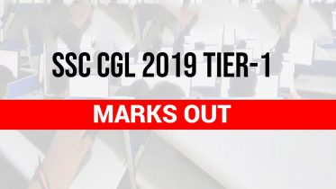 SSC CGL 2019 Tier 1 Marks Out Now