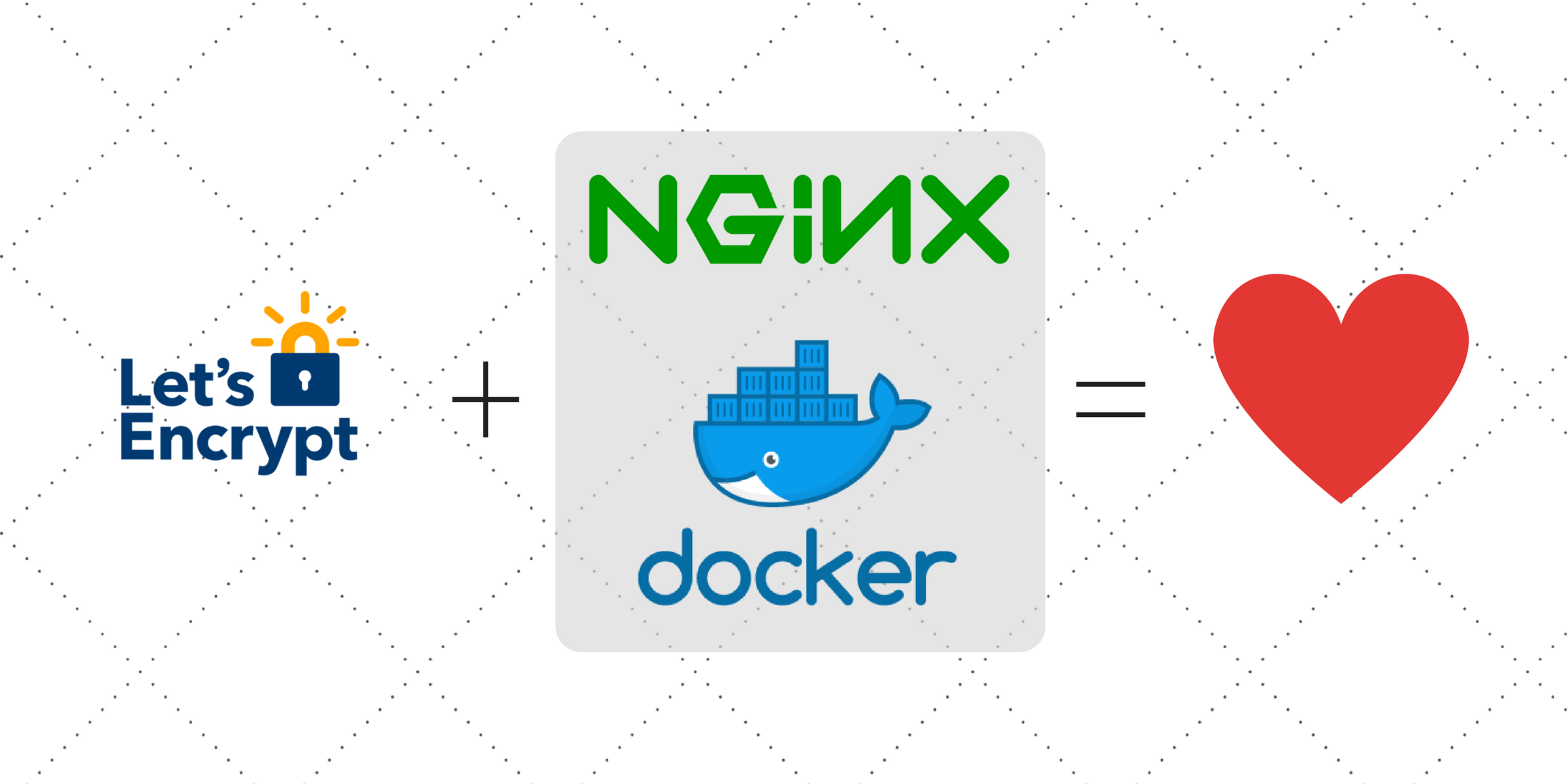 Setup Nginx and Let's Encrypt with Docker