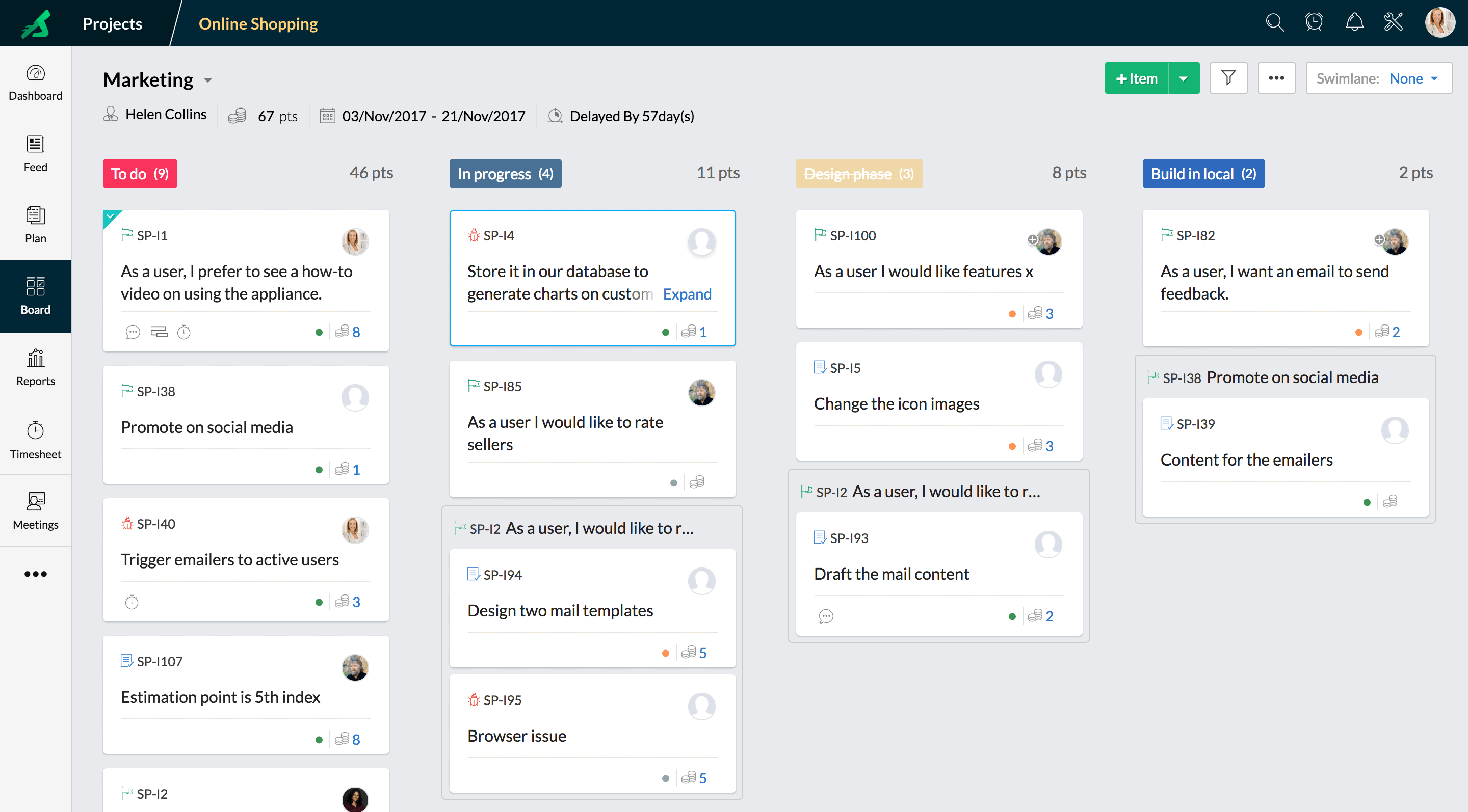 Zoho Task Management Software