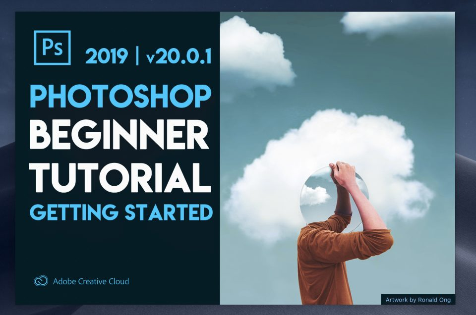 Photoshop 101 Beginner Tutorial - Getting Started with Photoshop 2019