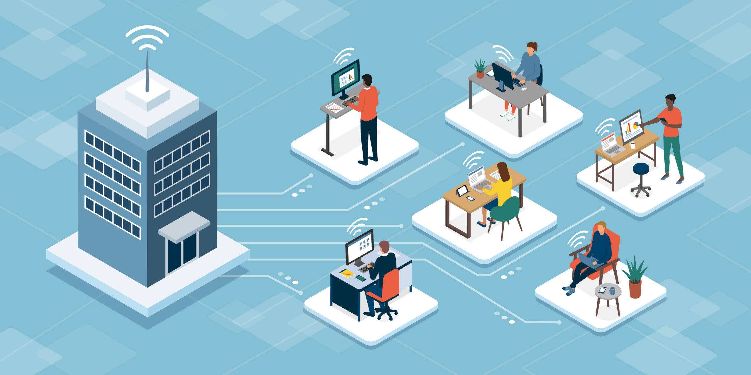 Why a Distributed Workspace Strategy is a Win-Win for Your Business