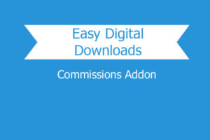Easy Digital Downloads Commissions Addon
