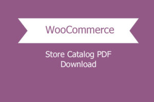 Woocommerce Store Catalog Pdf Download