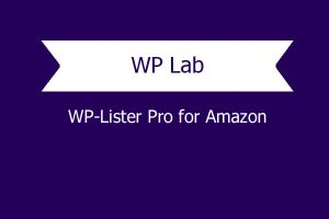 Wp Lister Pro For Amazon