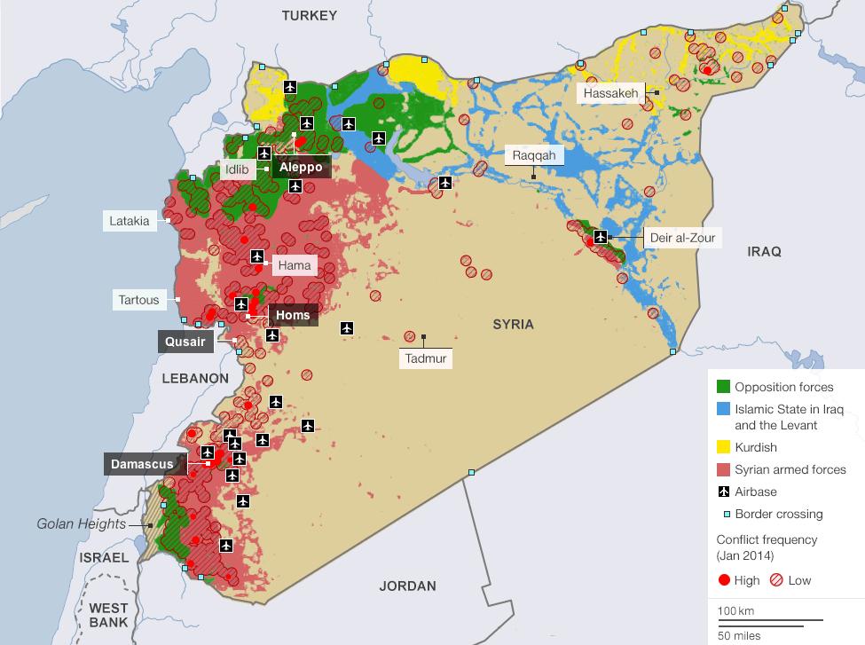 Jordan attacks ISIS held areas in Syria